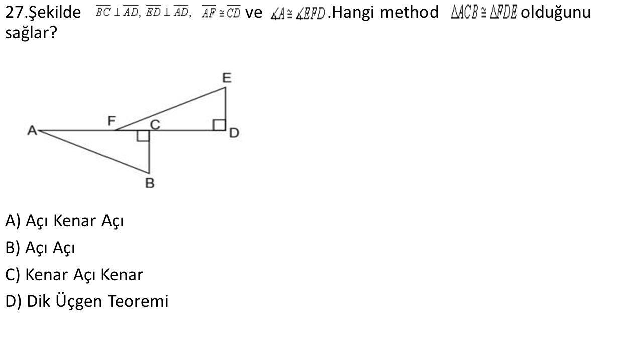 27.Şekilde ve.Hangi method olduğunu sağlar.