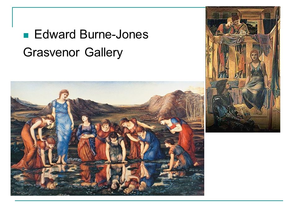 Edward Burne-Jones Grasvenor Gallery