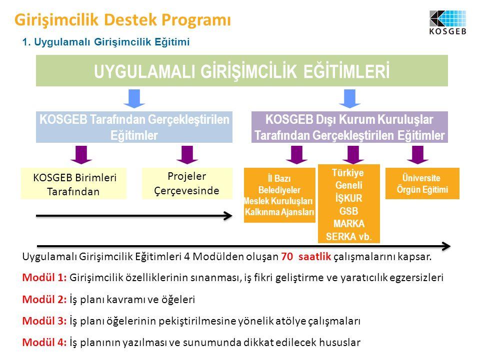 Girişimcilik Destek Programı 1.