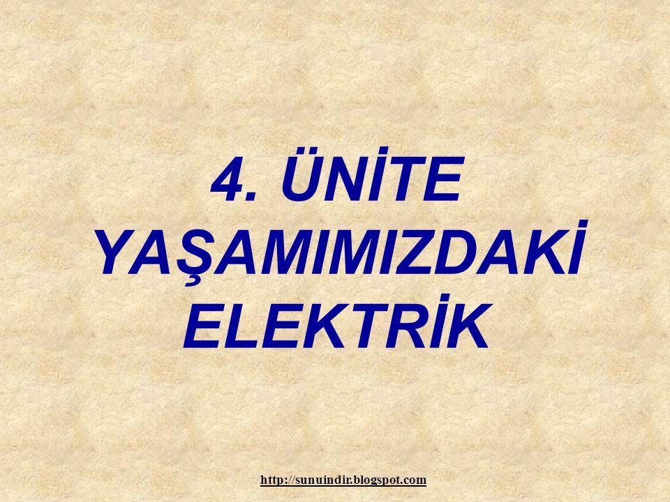 www.sunuindir.com Elektrik Enerjisi Nasıl Taşınır ?FENTEK 6-4-1 ÖZEL SAMANYOLU İLKÖĞRETİM OKULU