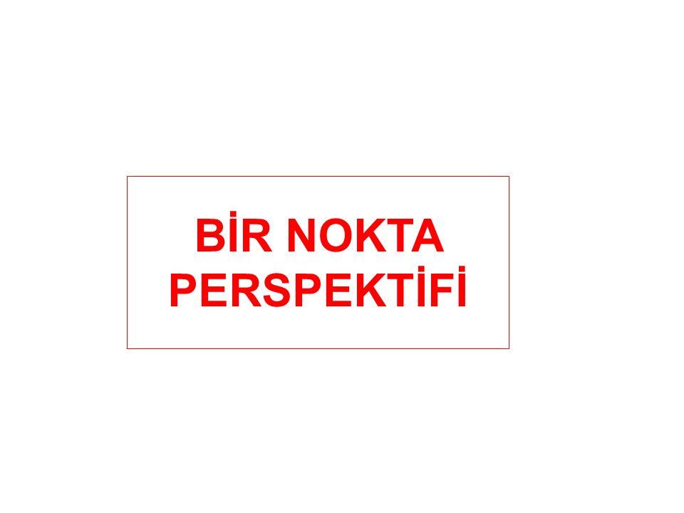 BİR NOKTA PERSPEKTİFİ
