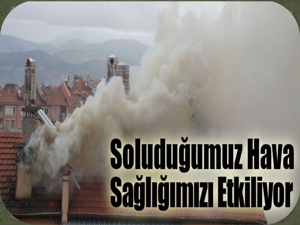 Hava kirliliği, canlıların sağlığını olumsuz yönde etkileyen ve havadaki yabancı maddelerin, normalin üzerinde miktar ve yoğunluğa ulaşmasıdır.