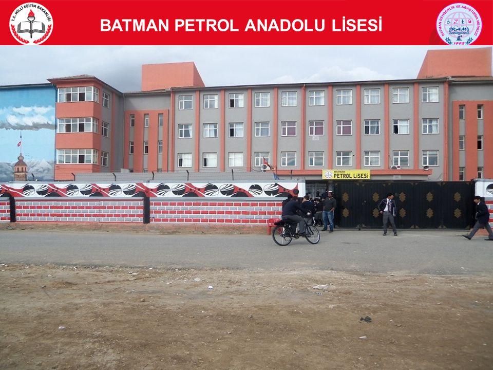 BATMAN PETROL ANADOLU LİSESİ