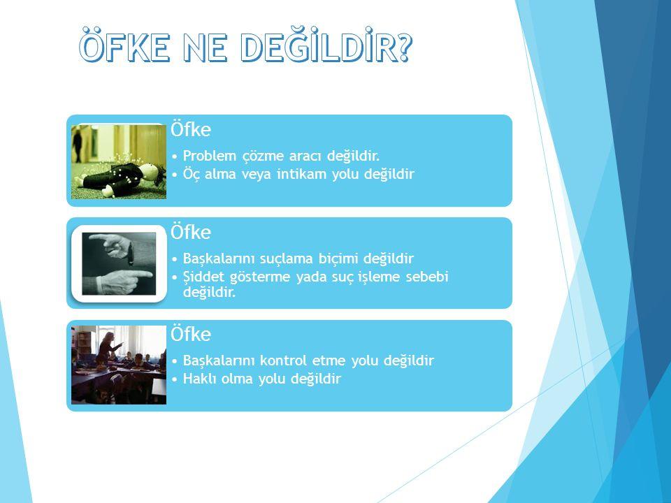 2) Büyükler için 4D kuralı: 4D 2)Düşün 3)Duygularını Kontrol et 4)Davran1)Dur