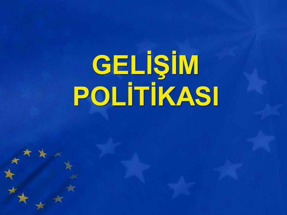 GELİŞİM POLİTİKASI