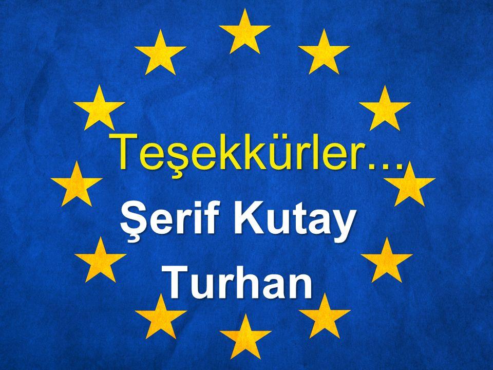 Teşekkürler... Şerif Kutay Turhan