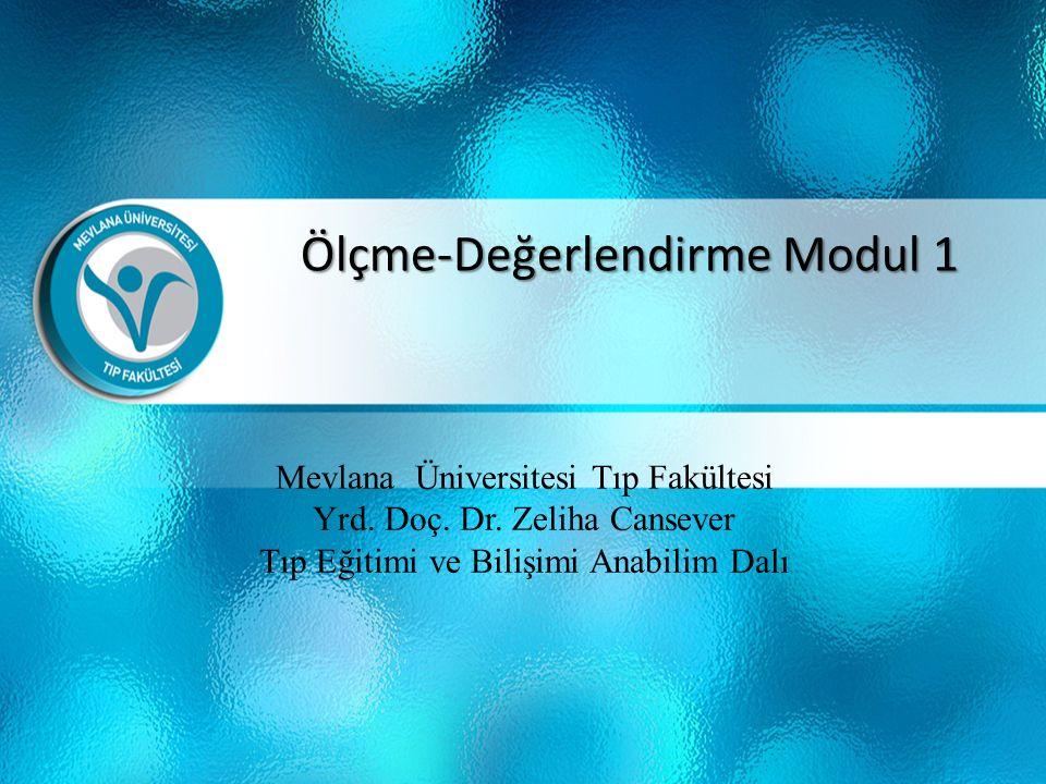 Mevlana Üniversitesi Tıp Fakültesi Yrd. Doç. Dr.