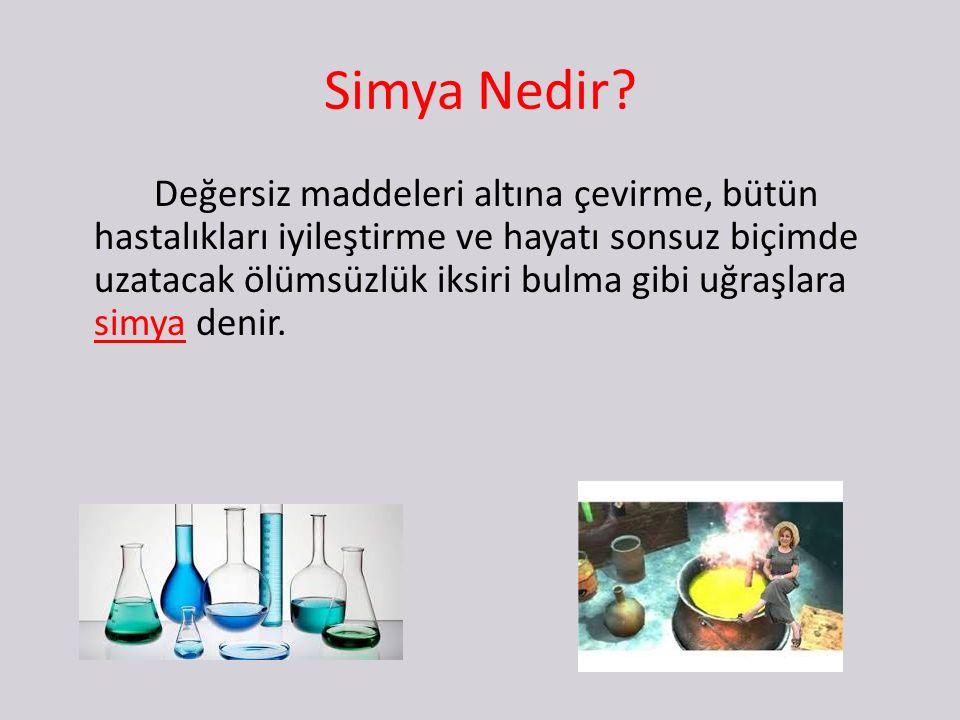 Simya Nedir.