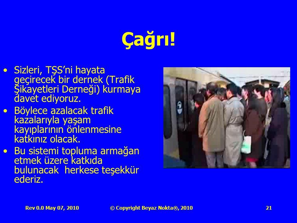 Rev 0.0 May 07, 2010© Copyright Beyaz Nokta®, 201021 Çağrı.