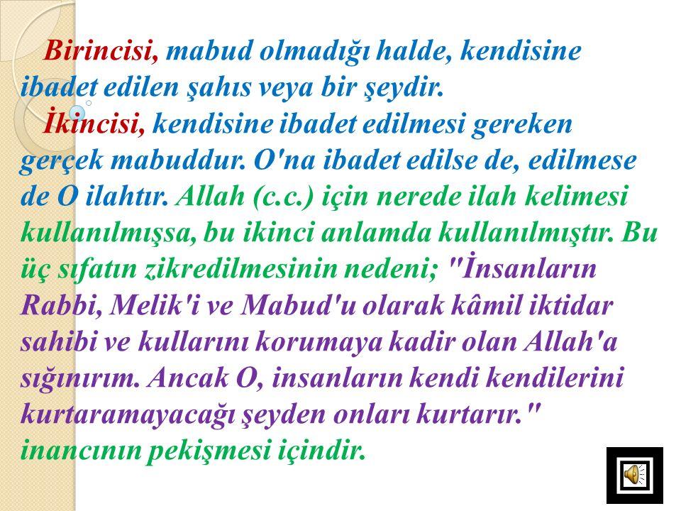 c)Kur'ân, şeytan kavramını sadece cinlerden ibaret saymaz, insanlardan da şeytanlar olduğu haberini verir.