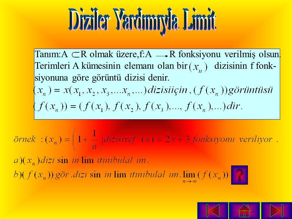5 -3 1 4 3 2 Örnek: Yandaki soruda –3,1 ve 4'ün limitlerini inceleyiniz.
