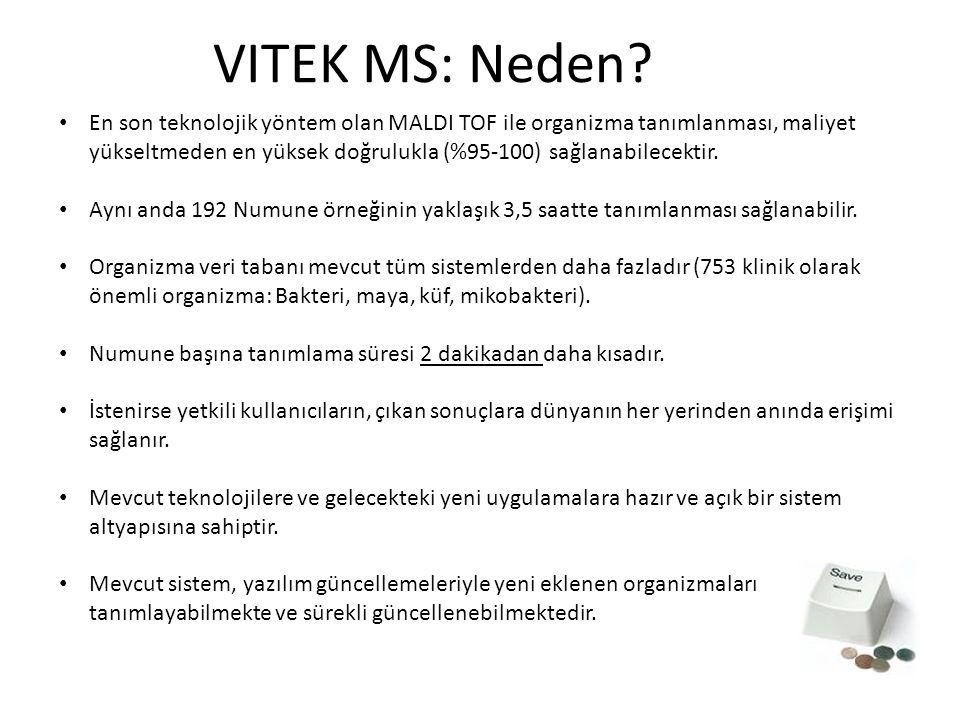 VITEK MS: Neden.