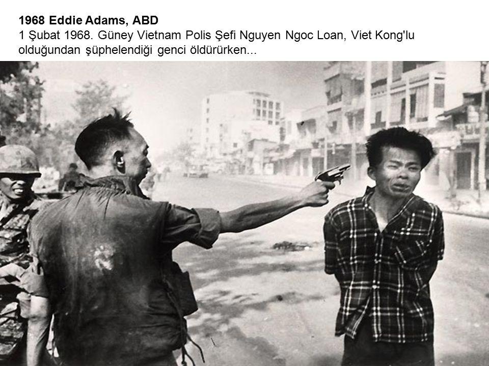 1968 Eddie Adams, ABD 1 Şubat 1968.