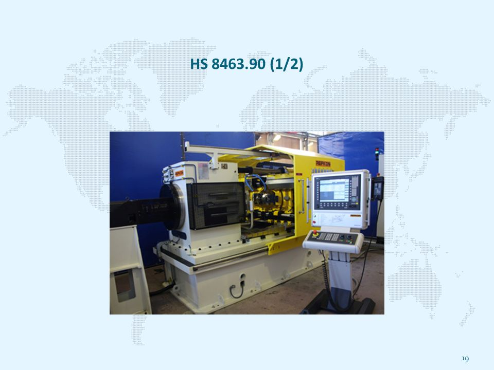 HS 8463.90 (1/2) 19