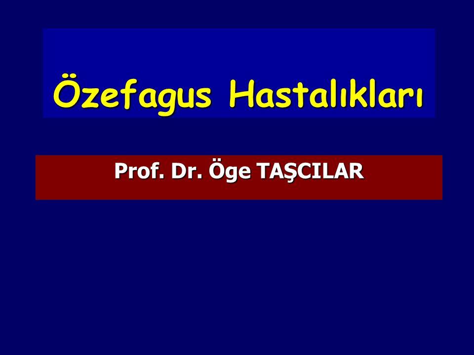 Achalasia Diagnostic Studies Endoskopi Endoskopi Özefagus dilatasyonu Özefagus dilatasyonu Gıda retansiyonu Gıda retansiyonu Manometri Manometri AÖS basıncı yüksek(>25 mm Hg) AÖS basıncı yüksek(>25 mm Hg) Relaksasyon olmaması Relaksasyon olmaması Aperistaltizm Aperistaltizm