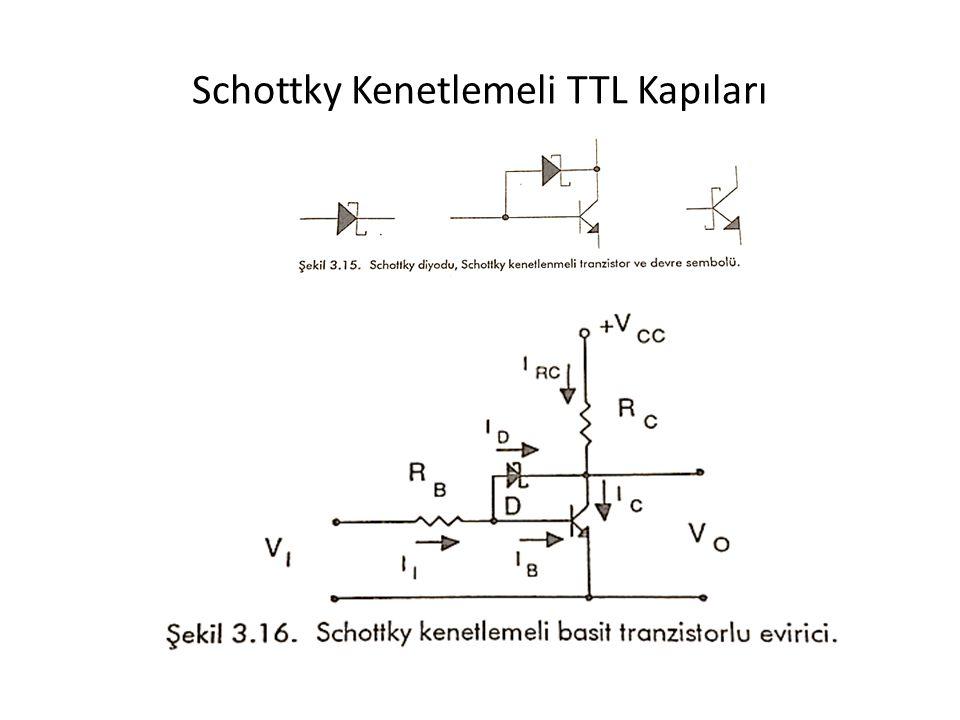 Schottky Kenetlemeli TTL Kapıları
