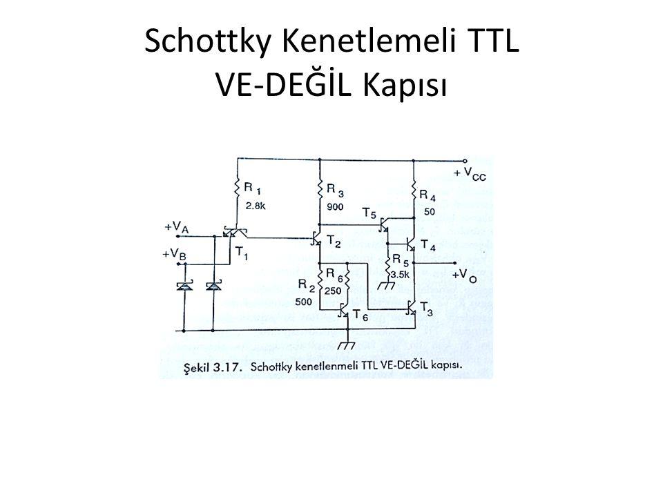 Schottky Kenetlemeli TTL VE-DEĞİL Kapısı