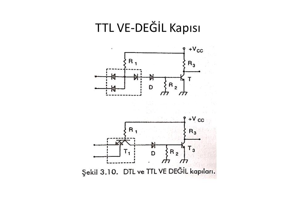 TTL VE-DEĞİL Kapısı