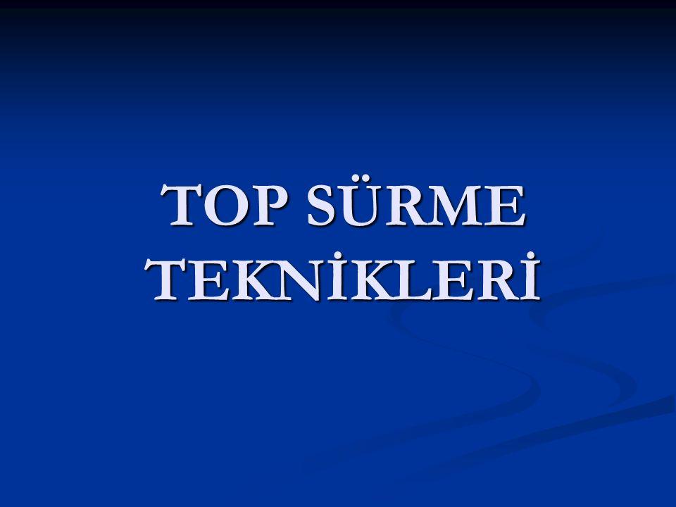 TOP SÜRME TEKNİKLERİ