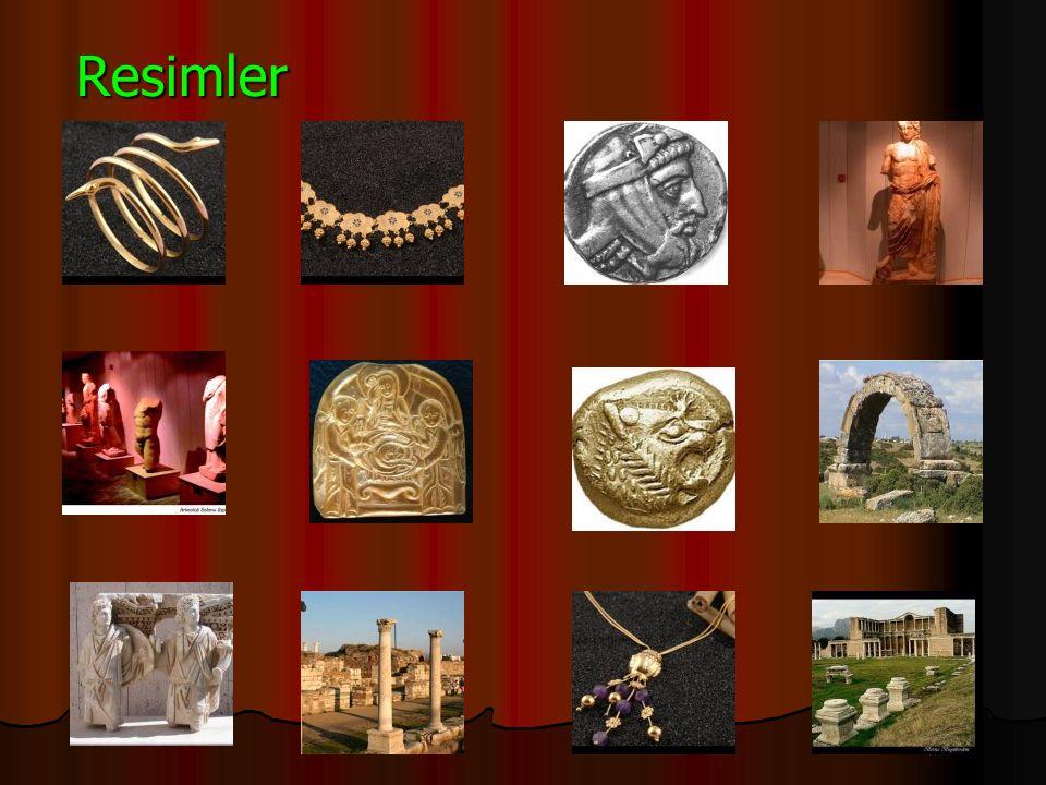 Coğrafi Yapısı Lidya uygarlığı toprakları.Yer olarak kabaca Anadolu nun batısıdır.