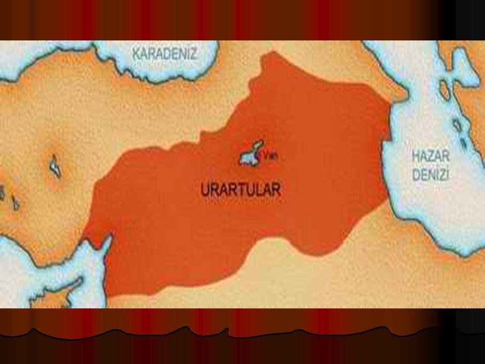 5)Urartular · M.Ö 900 yılında Doğu Anadolu'da kuruldu. · Başkenti Tuşpa(Van) şehridir. · Maden işlemeciliğinde ilerlemişlerdir. · Tarımla ve hayvancıl