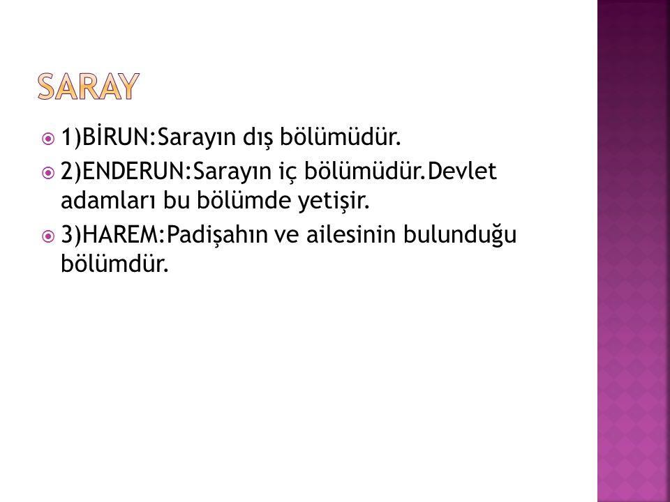  Osmanlı Devleti merkeziyetçi bir yapıya sahipti.