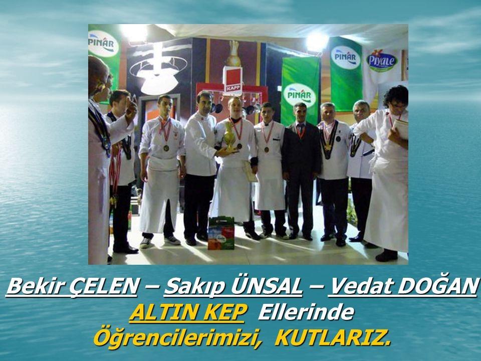 2010 İstanbul Skills Türkiye Ulusal Beceri Yarışması - SERVİS kategorisinde, Türkiye Birinciliği M.Efe PLATİN Portekiz'de yapılacak olan 2010 Euroskills yarışmasına katılma hakkı elde edildi.