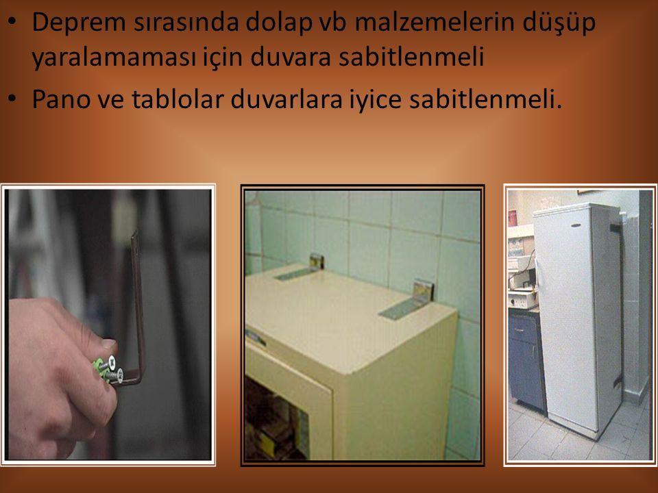 Koridor ve lavabolardaki elektrik prizleri uygun şekilde çocuk korumalı hale getirilmelidir.