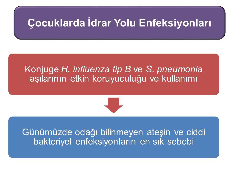 Konjuge H.influenza tip B ve S.