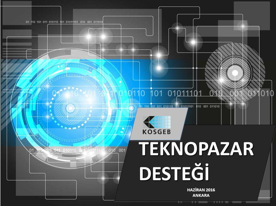 Teknolojik Ürün, Tanıtım ve Pazarlama (TEKNOPAZAR) Destek Programı Bakanlığımıza bağlı Bilim ve Teknoloji Genel Müdürlüğü uhdesinde yürütülmekte olan Teknopazar Destek Programı'nın Başkanlığımızca yürütüleceği kararı alınmıştır.