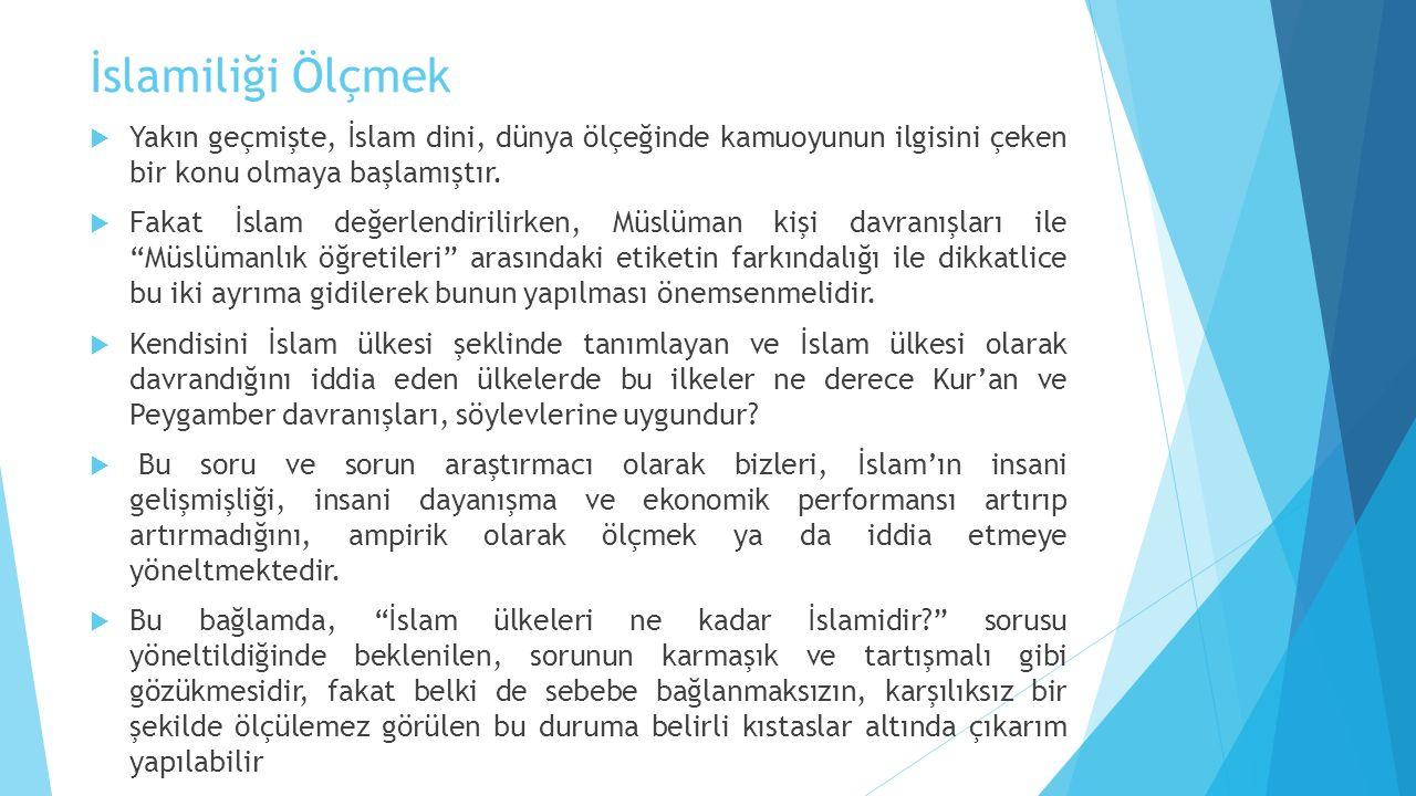 Kurallar ve İslam İlişkisi  İslam kurallara dayalı bir sistem içerir.