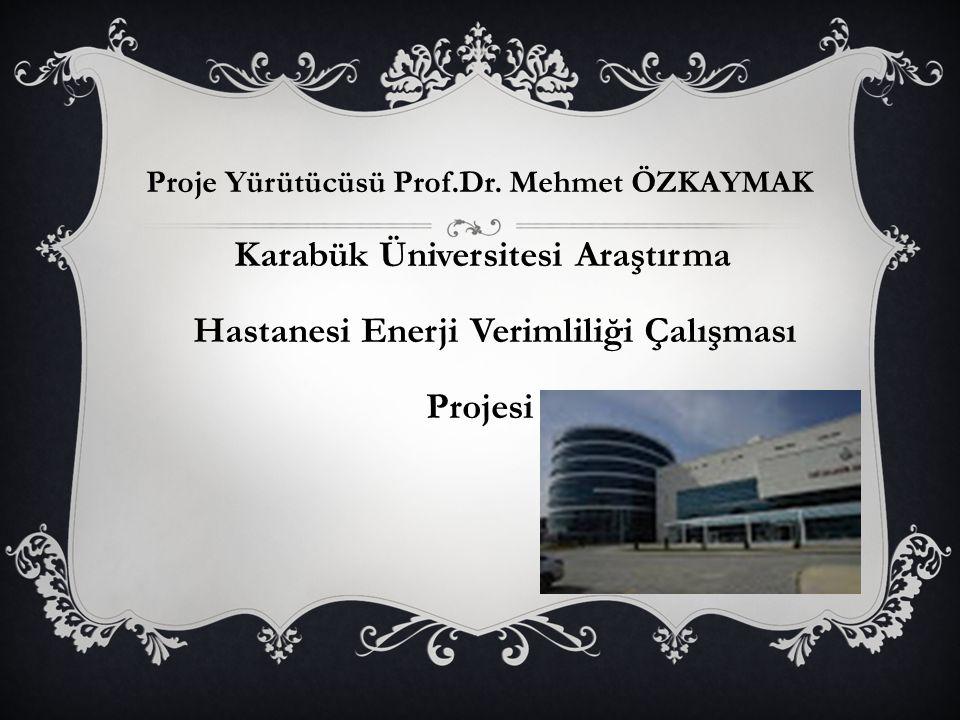 Proje Yürütücüsü Prof.Dr.