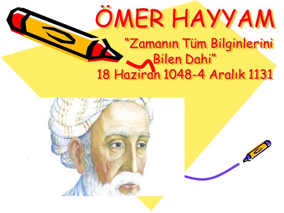 Kitabında sık sık cebirsel denklemleri geometrik yöntemlerle çözme yoluna başvurmuştur.