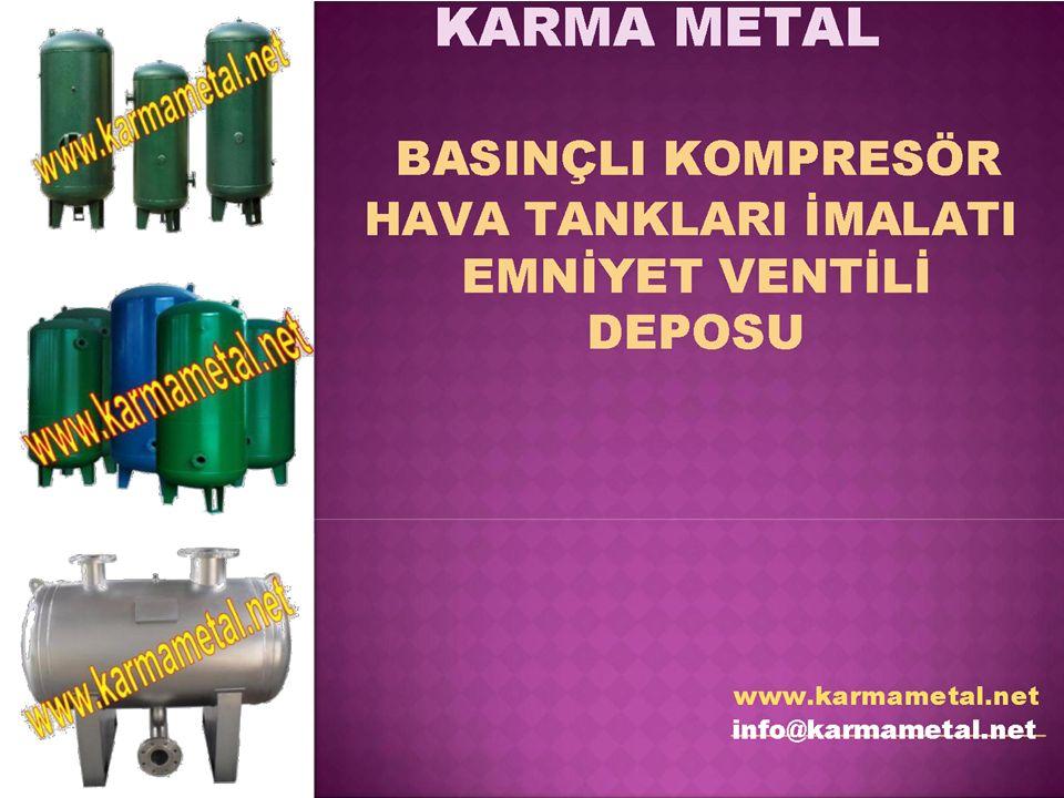 Kompresör hava tankı, kompresörün dur-kalk zaman aralığındaki basınç farklılığını düşürmek için kullanılır.