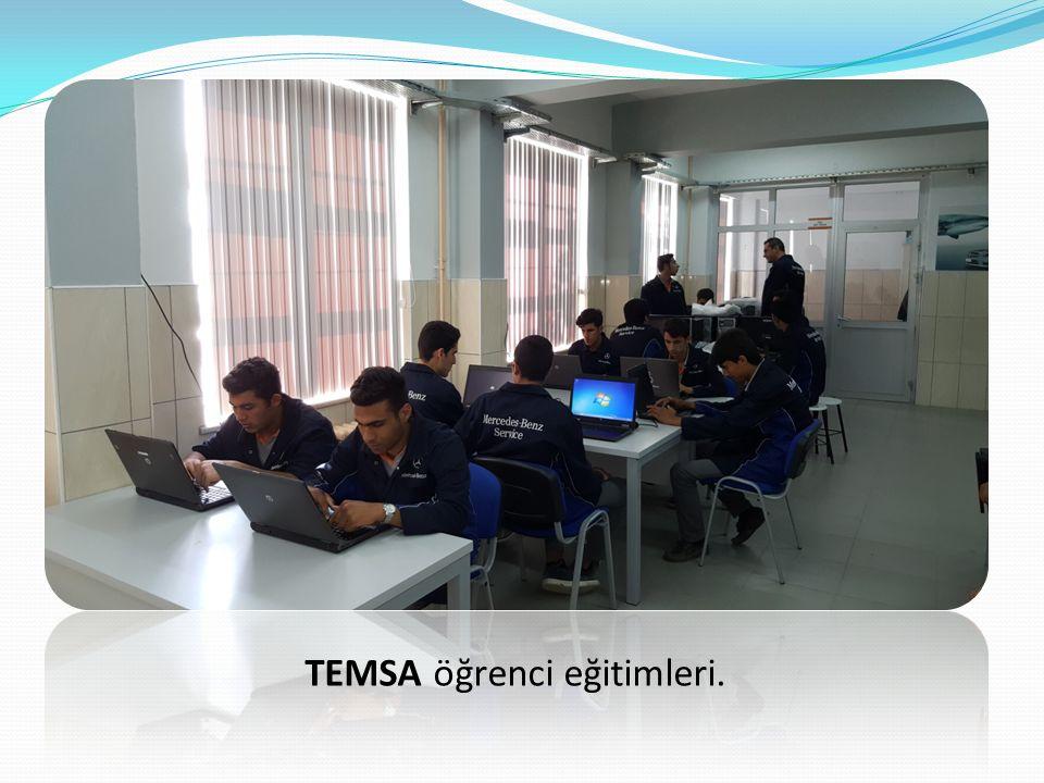 TEMSA öğrenci eğitimleri.
