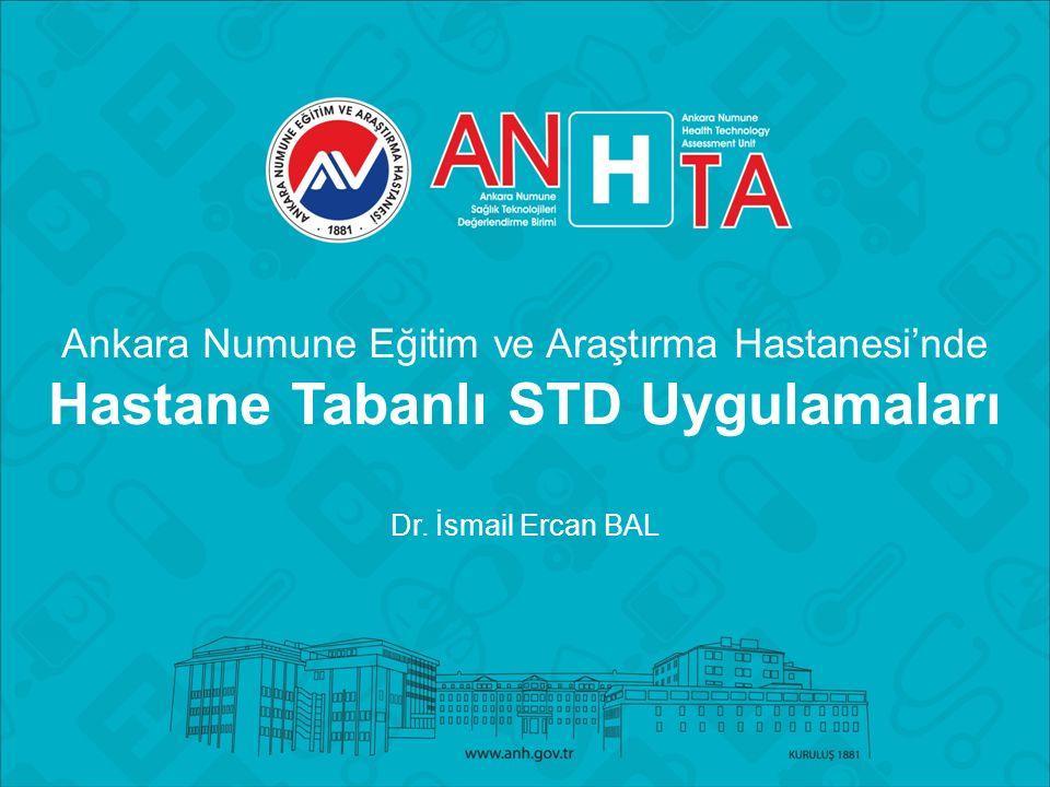 Ankara Numune Eğitim ve Araştırma Hastanesi'nde Hastane Tabanlı STD Uygulamaları Dr.