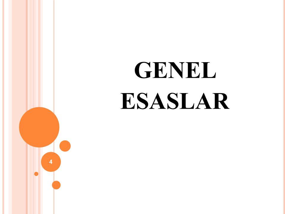 GENEL ESASLAR 4