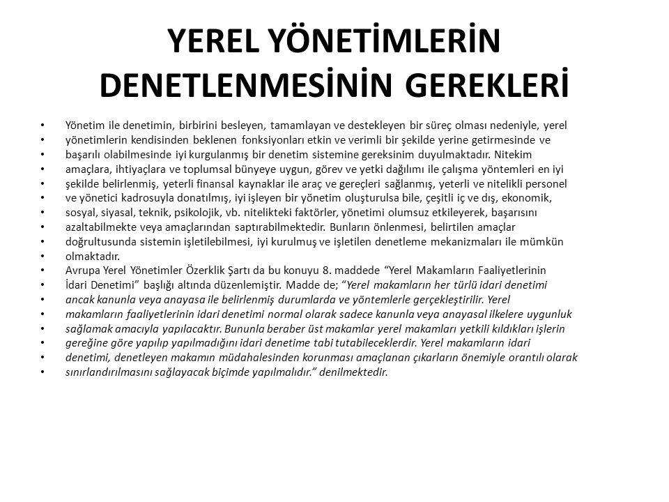 AVRUPA BİRLİĞİNİN MALİ YARDIMLARI AB'nin, üye ülkelerin iç yönetim sistemi hakkında karar verme ya da üye ülkelerin yerel ve bölgesel yönetimlerinin statüsünü tayin etme yetkisi yoktur.