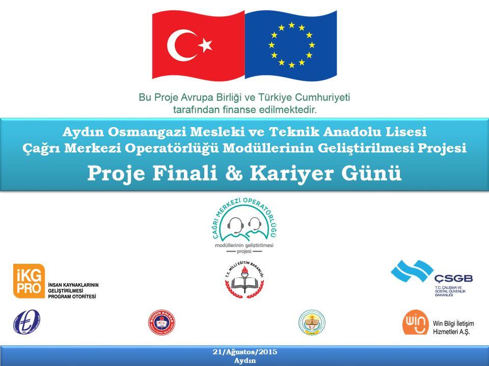 21/Ağustos/2015 Aydın 21/Ağustos/2015 Aydın Modüllerin Yazılması ve Taslak Modüllerin Basılması Çalıştay'da modül içerikleri belirlendikten sonra belirlenen çerçeve programa göre Anadolu Üniversitesi'nden, Doç.