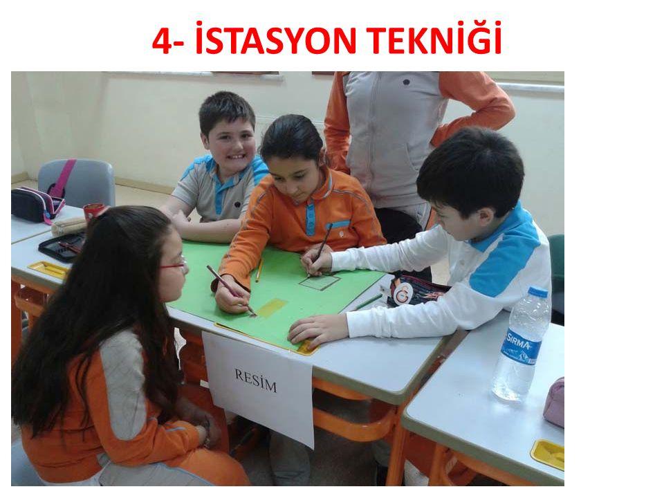 4- İSTASYON TEKNİĞİ