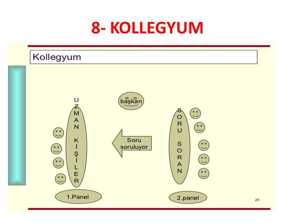 8- KOLLEGYUM