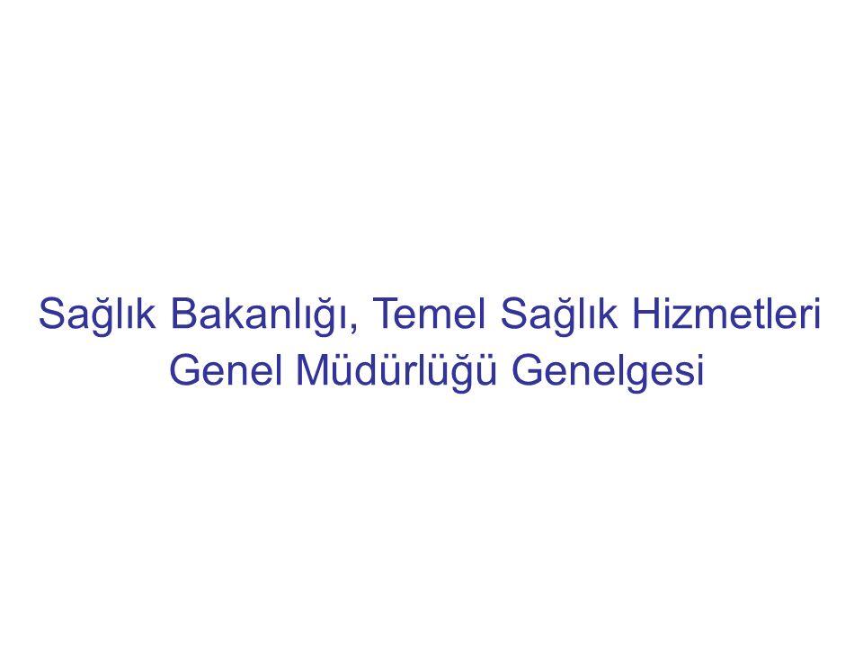 Sağlık Bakanlığı, Temel Sağlık Hizmetleri Genel Müdürlüğü Genelgesi