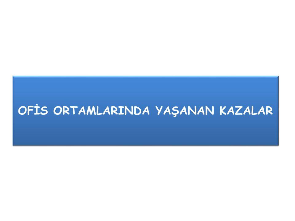 OFİS ORTAMLARINDA YAŞANAN KAZALAR