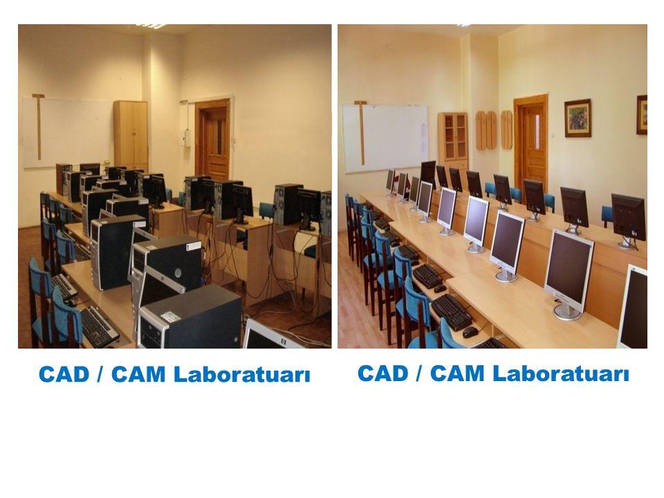 CAD / CAM Laboratuarı