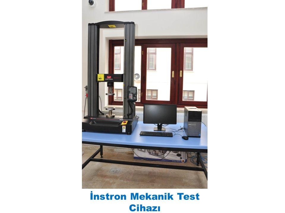 İnstron Mekanik Test Cihazı