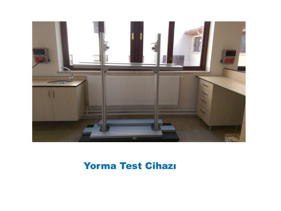Yorma Test Cihazı