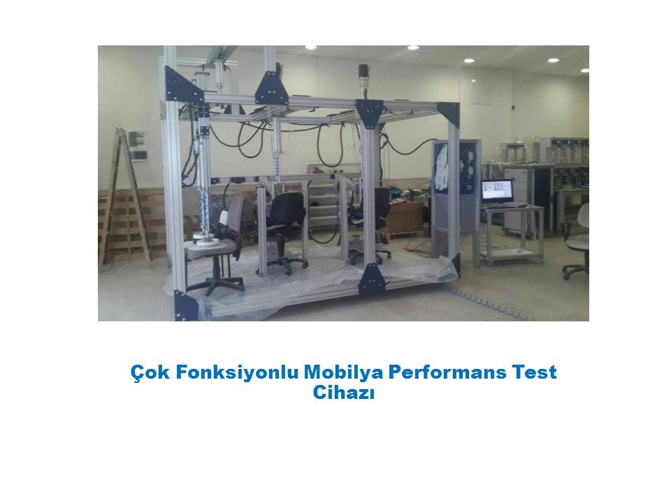 Çok Fonksiyonlu Mobilya Performans Test Cihazı
