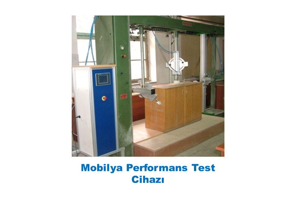 Mobilya Performans Test Cihazı