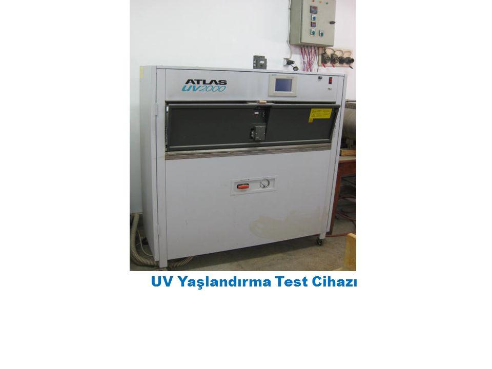 UV Yaşlandırma Test Cihazı