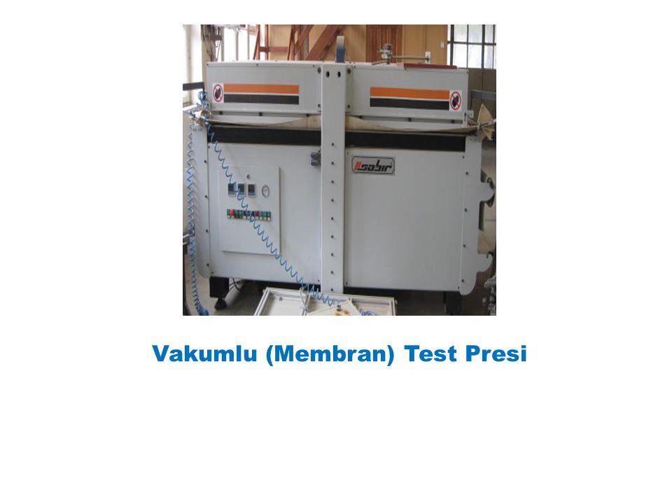 Vakumlu (Membran) Test Presi